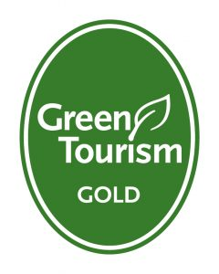 Image of Green Tourism's Gold Award - presented to Glaziers Hall