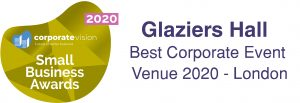 Best London Venue small business awards logo